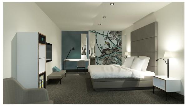 Comfort hotelkamer met bubbelbad van der valk hotel hilversum